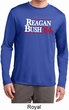 Reagan Bush 1984 Mens Dry Wicking Long Sleeve Shirt