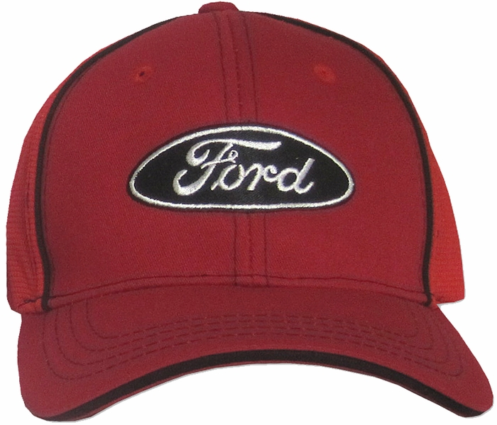 Ford Hat Logo Fitted Flexfit Embroidered Adjustable Cap