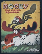Rocky And Bullwinkle Flying Squirrel Shirts