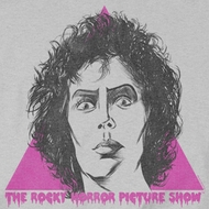 Rocky Horror Picture Show Frank Face Shirts