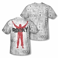Rocky News Press Sublimation Kids Shirt Front/Back Print
