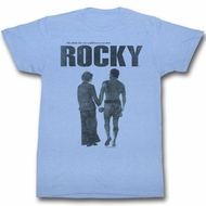 Rocky Shirt Hand In Hand Light Blue T-Shirt