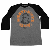 Rocky Shirt Raglan Mighty Mick's Gym Black/Athletic Heather Shirt