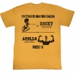 Rocky Shirt Rematch Adult Orange Heather Tee T-Shirt