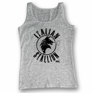 Rocky Shirt Tank Top Italian Stallion Athletic Heather Tanktop