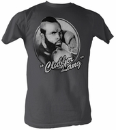 Rocky T-shirt Clubber Lang Classic Adult Charcoal Tee Shirt