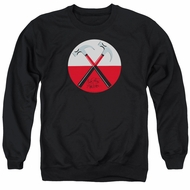Roger Waters Sweatshirt The Wall Hammers Adult Black Sweat Shirt