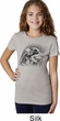 Rottweiler Sketch Girls Shirt