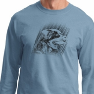 Rottweiler Sketch Long Sleeve Shirt