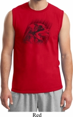 Rottweiler Sketch Mens Muscle Shirt