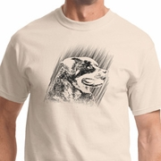Rottweiler Sketch Mens Shirts