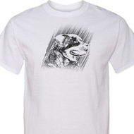 Rottweiler Sketch Mens Tall Shirt