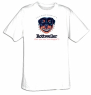 Rottweiler T-shirt I'm a Proud Owner of a Rottweiler Nice Doggie Tee