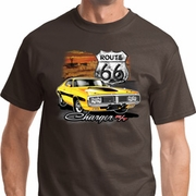 Route 66 Charger RT Mens Dodge Shirts