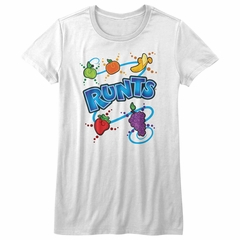 Runts Shirt Juniors Fruity White T-Shirt