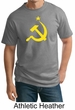 Russian Shirt Hammer and Sickle USSR Adult Tall T-shirt