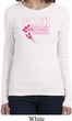 Sack Breast Cancer Ladies Long Sleeve Shirt