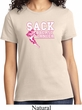Sack Breast Cancer Ladies Shirt