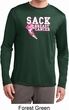 Sack Breast Cancer Mens Dry Wicking Long Sleeve Shirt