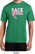 Sack Breast Cancer Mens Moisture Wicking Shirt