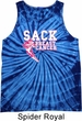 Sack Breast Cancer Tie Dye Tank Top