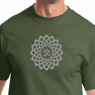 Sahasrara Crown Chakra Mens Yoga Shirts