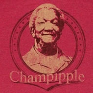 Sanford & Son Shirt Champipple Adult Red Heather Tee T-Shirt