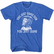 Sanford & Son Shirt Just Dumb Royal T-Shirt