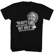 Sanford & Son Shirt Ugly To The Bone Black T-Shirt