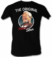 Sanford & Son T-shirt Redd Foxx Pawn Star Adult Black Tee Shirt