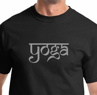 Sanskrit Yoga Text Mens Yoga Shirts