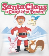 Santa Clause Is Coming To Town Animal Friends Shirts