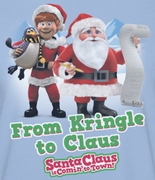 Santa Clause Is Coming To Town From Kringle Shirts