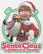 Santa Clause Is Coming To Town Penguin Pal Shirts