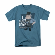 Santa Clause Shirt I Hate Toys Slate T-Shirt