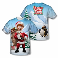 Santa Clause Shirt Santa's Helper Sublimation Youth Shirt