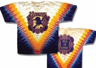Santana T-shirt - All Is One Classic Rock Tie Dye Tee