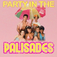 Saved By The Bell Juniors Shirt Party in the Palisades Pink T-Shirt