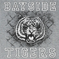 Saved By The Bell Juniors Shirt School Yard Tigers Grey T-Shirt