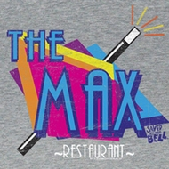 Saved By The Bell Juniors Shirt The Max Grey Tee T-Shirt