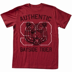 Saved By The Bell Shirt Authentic Adult Red Heather Tee T-Shirt