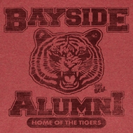 Saved By The Bell Shirt Bayside Alumni Adult Red Heather Tee T-Shirt