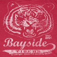 Saved By The Bell Shirt Bayside Vintage Adult Heather Red Tee T-Shirt