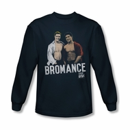 Saved By The Bell Shirt Bromance Long Sleeve Navy T-Shirt