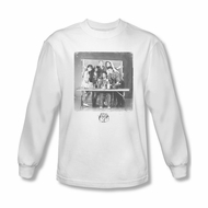 Saved By The Bell Shirt Class Photo Long Sleeve White T-Shirt