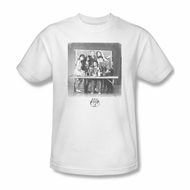 Saved By The Bell Shirt Class Photo White T-Shirt