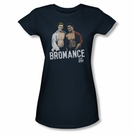 Saved By The Bell Shirt Juniors Bromance Navy T-Shirt
