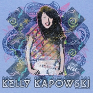 Saved By The Bell Shirt Retro Kapowski Adult Light Blue Tee T-Shirt