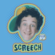 Saved by the Bell Shirt Screech Adult Carolina Blue Tee T-Shirt