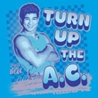 Saved by the Bell Shirt Turn up the A.C. Adult Turquoise Tee T-Shirt